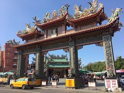 An'png Kaitai Tianhou Palace, Tainan, Taiwan by Neil Hassall