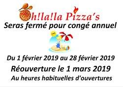 Oh! La! La! Pizza's