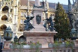 Dedicated to St. Mary, patron saint of Bavaria.