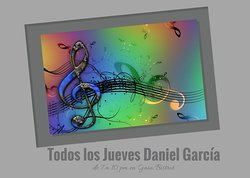 Come enjoy live music the days Thursday with Daniel García from 7 to 10 pm