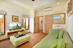 Ini Vie Villa is truly romantic and family villa