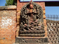 Ugrachandi and Bhairav Statues