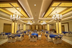 The Royal Velvet, having modern decor, suitable not only for the Corporate event & Social gather
