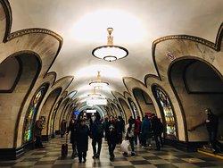 Metro Station Novoslobodskaya