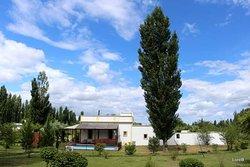 Paz y descanso con vista a la Sierra Pintada. ¡Inolvidable!