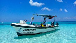 One of the boats we use for our private dive/snorkeling trips.