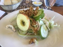 Chicken and apple salad - lunch