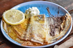 Mouthwateringly delicious Sweet Crépe