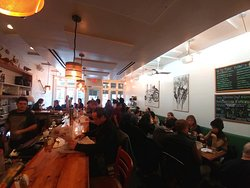 Inside Westvile Chelsea, NY (17/Feb/19).