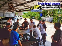 📣📣 Train local people  