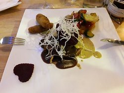 Main course was so tender and the combination of flavors was amazing