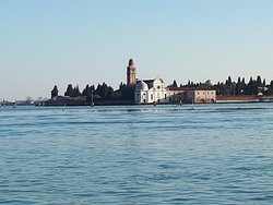 In Venedig vom Wasser aus anlanden