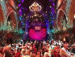 Marvellous theatre wonderful food fabulous show