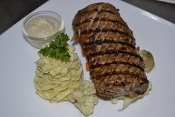 """Grilled Blue Marlin'"