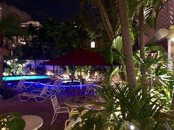 Worthington Resorts pool and hot tub.