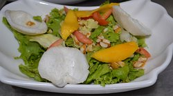 """Island Treasure Salad"""