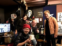 A nice meeting with Hiroshima locals :)