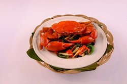 Hot and Spicy Crab