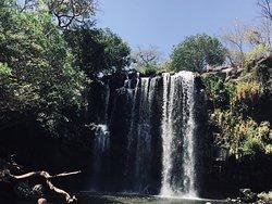 Llanos de Cortez waterfalls
