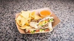 Vegetarian Burrito! delicious