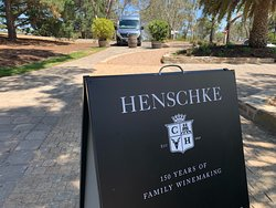 Henschke new cellar door is a great place to visit, great staff and of course World Class wines