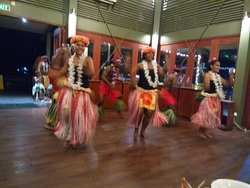 Beautiful dancing at NUKU restaurant