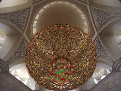 Th largest crystal chandelier