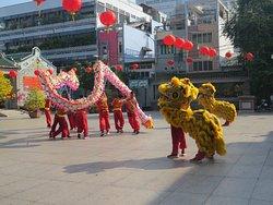 Dragon Dance in China Town