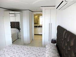 Bedroom plus ensuite bathroom (South side)