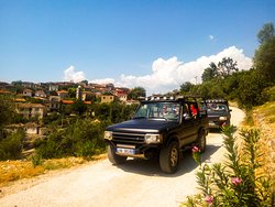 Visit to a traditional old village along the Albanian Riviera
