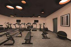 adina apartment hotel nuremburg gym
