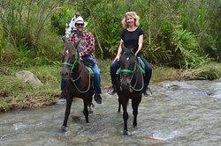 Vive una experiencia con Cocora Trek entre ríos y cascada en Salento Colombia.
