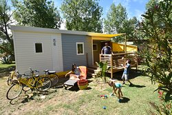 location 5 personnes, cottage Luxe 4/5 pers Camping les Mimosas Portiragnes plage