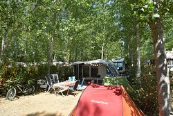 emplacement camping  Camping les Mimosas Portiragnes plage
