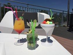 Cocktaisl Restaurant le sunset   Camping les Mimosas Portiragnes plage