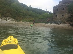 Sea forts, castles and follies. This one was a corn mill and is just another folly I'm afraid