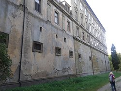 Side view of Schloss Schillingsfurst