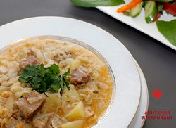 Pickled Cabbage Soup-Qrchik