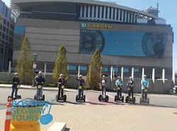 Going to see a #concert or #show at #TDGARDEN? Make a day of it and check us out on a#Segway#tour in#Boston! www.bostonsegwaytours.net