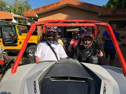 Great time...took us through rivers...hills and valleys so beautiful.  Felt very safe (better than ATV's) and well taken care of by our great guides!!