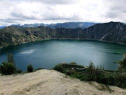 Sendero al Fondo del Crater