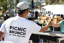 Picnic Brunch, every Friday 1:30 PM - 5:30 PM