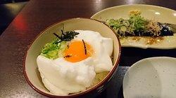 メレンゲ卵かけご飯定食