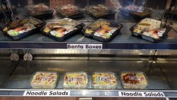 Sushi and Salads