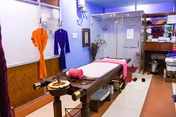 Ayurvedic Spa Room