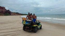 Passeio litoral sul na Paraíba