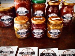 Love our housemade range of sauces and dips. Why not take one home today?