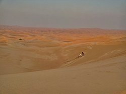 spettacolare tour tra le dune