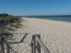 Looking South on Carrum Beach