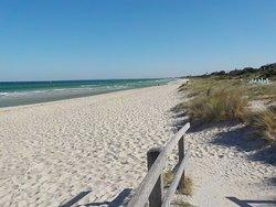 Looking North on Carrum Beach